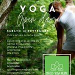 Open day - Spazio Yoga Mente Pisa - SABATO 18 SETTEMBRE